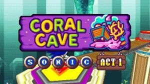 DesMuMe - Sonic Rush Adventure Coral Cave, Sonic - Act 1