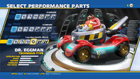 Eggman Legendary Rumble Wheels Wheels