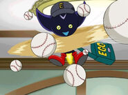 Ep10 Bokkun throwing balls