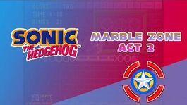 Marble Zone Act 2 - Sonic the Hedgehog