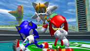Sonic Heroes Power Plant Team Sonic Victory