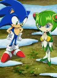 Sonic and Cosmo