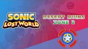 Desert Ruins Zone 2 - Sonic Lost World