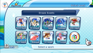 Mario Sonic Olympic Winter Games Event Select 1
