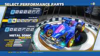 Metal Sonic Boom Module Rear