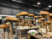 SonicMovie props mushrooms