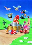 Sonic 1994 calendar - Badniks