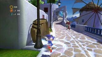Sonic Generations- Foot Sweep Kick
