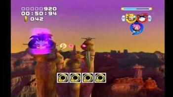 Sonic Heroes Bullet Station (Team Rose)
