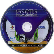 Sonic The Hedgehog (2006) - Disc - US (PS3) - (1)
