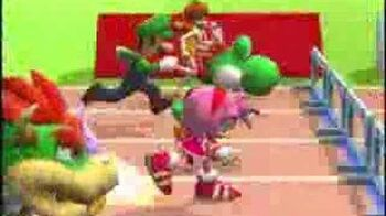 Mario & Sonic at the Olympics Games - 110M Hurdles Trailer