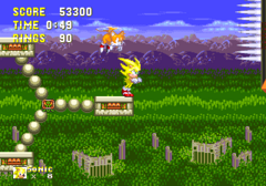 Sonic3 MD SuperSonicHead