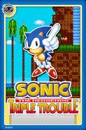 Sonic Triple Trouble Card
