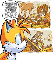 Miles tails prower archie sonic news network fandom powered tails remembering his past with sonic from sonic the hedgehog 280 altavistaventures Images