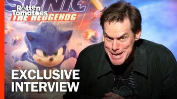 Jim Carrey and 'Sonic' Cast Give the Hedgehog Redesign the Thumbs Up Rotten Tomatoes