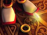 Gold rings (brazalete)