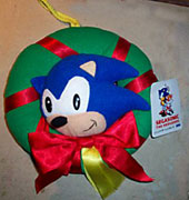 SegaSonic Xmas Wreath