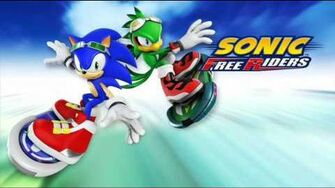 "Sonic Free Riders ""Frozen Forest"" Music"