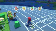 Mario & Sonic at the Rio 2016 Olympic Games - 4x100m Relay Players in order