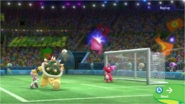 Mario & Sonic at the Rio 2016 Olympic Games - Amy Rose Bowser and Red Birdo Football