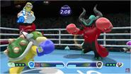 Mario & Sonic at the Rio 2016 Olympic Games - Bowser Jr. VS Zavok at Boxing