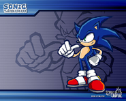 Sonic Battle tapeta 1
