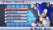 Sonic Rivals 2 menu 01