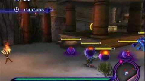 Sonic Unleashed (Wii) - Shamar Night Stage 2 Scorched Rock
