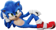 Sonic movie - Sonic on side v2