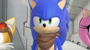 Sonic suspicious