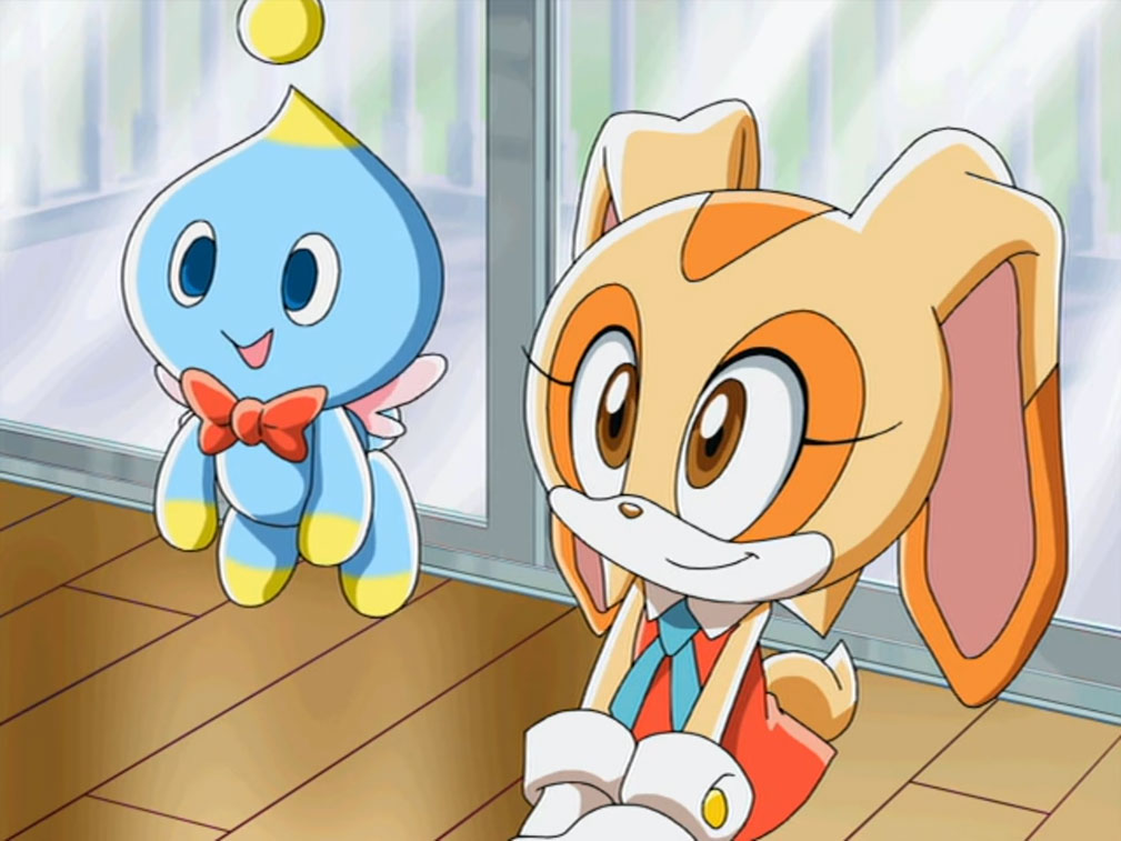Cheese the Chao-Sonic X