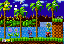 MD Sonic the Hedgehog