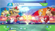 Mario & Sonic at the Rio 2016 Olympic Games - Rugby Sevens Competitors