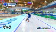 Mario Sonic Olympic Winter Games Gameplay 056