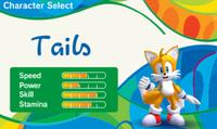 Mario Sonic Rio 3DS Stats 2