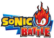 Sonic Battle EN logo