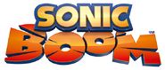 Sonic Boom logo white outline