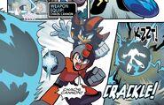 Chaos Cannon Mega Man