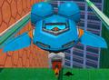 Heroes blue flapper