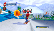 Mario Sonic Olympic Winter Games Gameplay 036