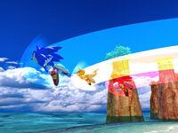 Sonic Heroes - Jump Dash