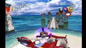 Sonic Heroes Egg Hawk (Team Rose)
