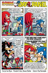 Sonic Universe Issue 1 Off Panel