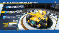 Tails Tornado Engine Rear