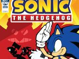IDW Sonic the Hedgehog: Ежегодник 2019