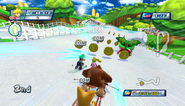Mario Sonic Olympic Winter Games Gameplay 165