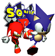 R Sonic and Knuckles