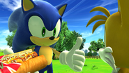 Sonic's birthday Chili Dog