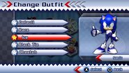 Sonic's Ice Suit