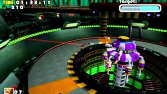 Sonic Adventure DX (GC) E-102 Hot Shelter Missions Level B and A